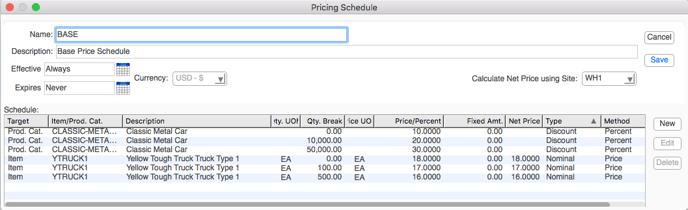 pricingSchedule