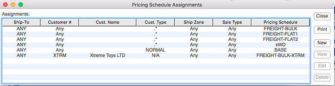 pricingScheduleAssignments